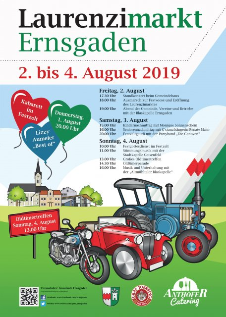 Flyer Laurenzimarkt 2019